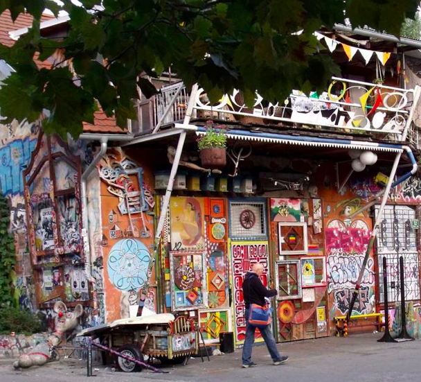 Metelkova: Ljubljana's most surprising quarter