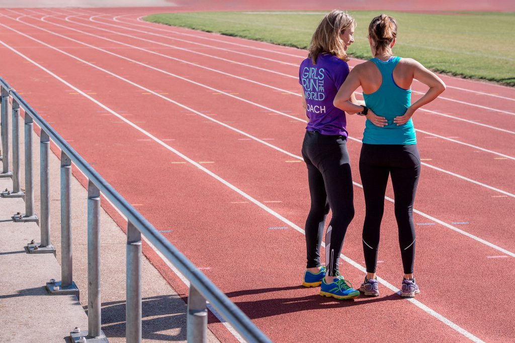 Training with Girls Run the World online gives you direct access to our coaches