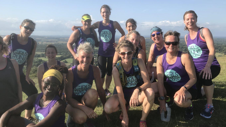 Girls Run the World, women supporting women in running and triathlon