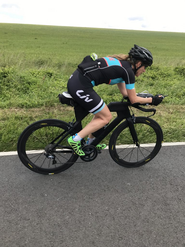 If you're going to do a triathlon, think about improving bike handling skills