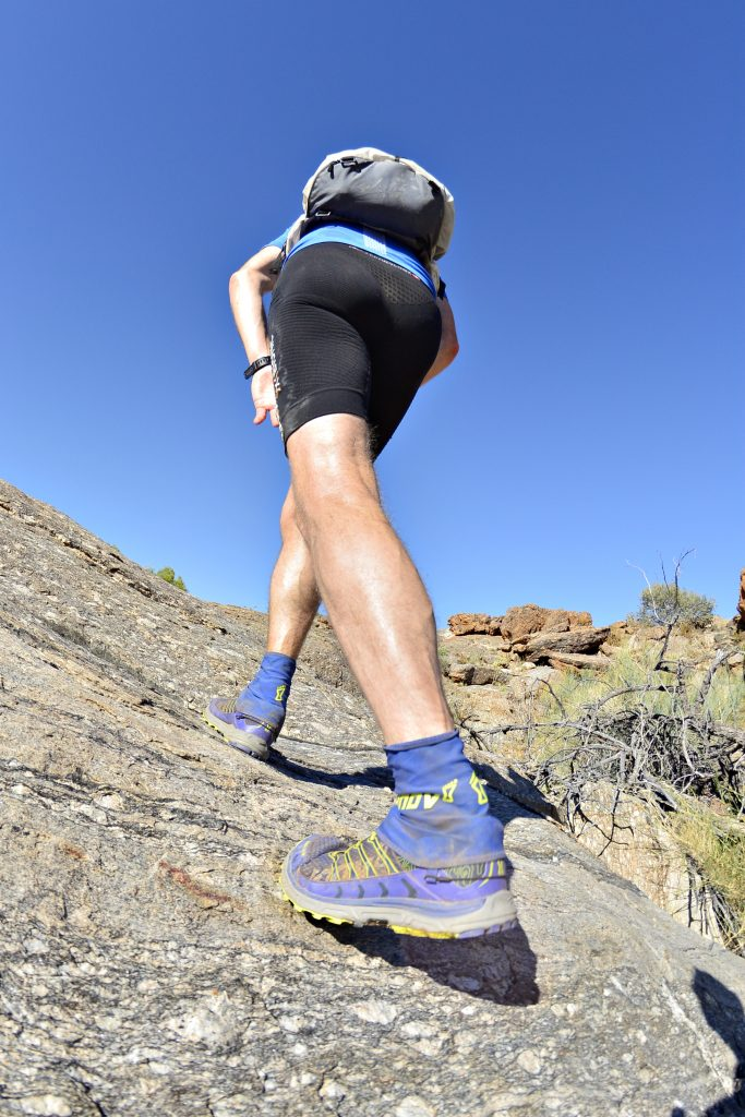 hiking uphill